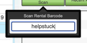 "Barcode escape message: ""helpstuck"""